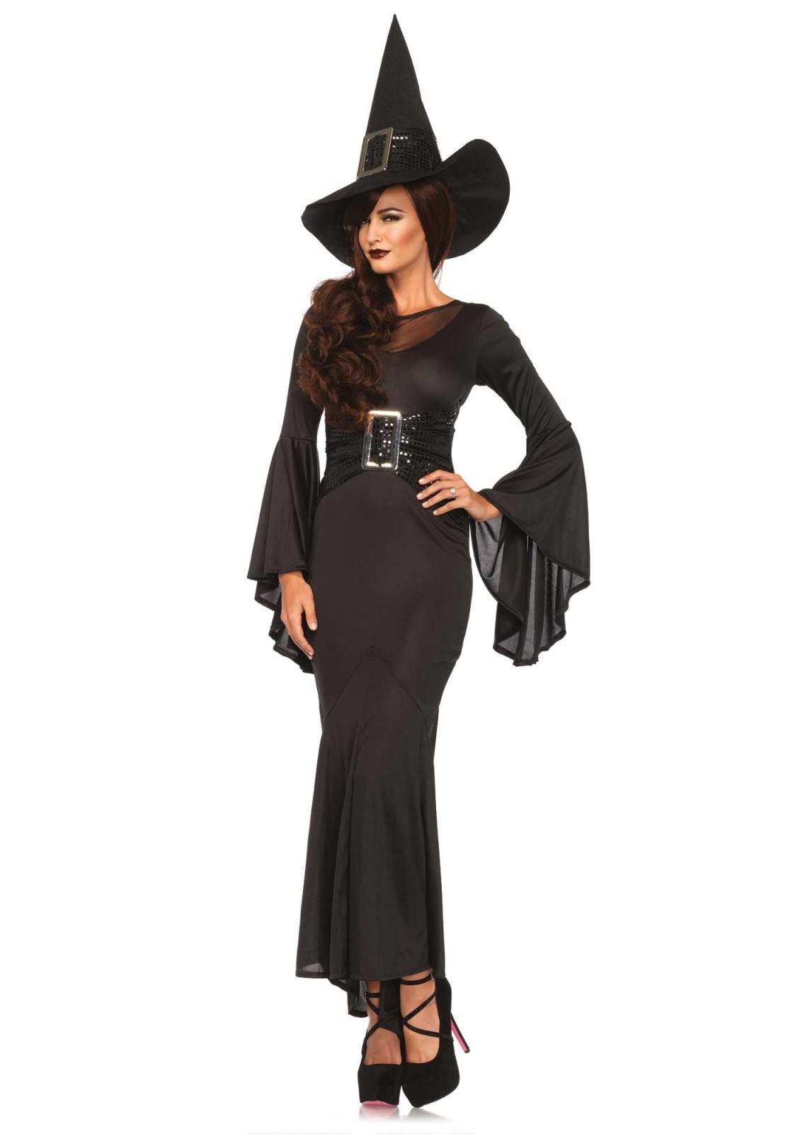 a8a50182db Leg Avenue Lingerie: costume da strega con abito a campana