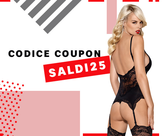 Codice coupon SALDI25