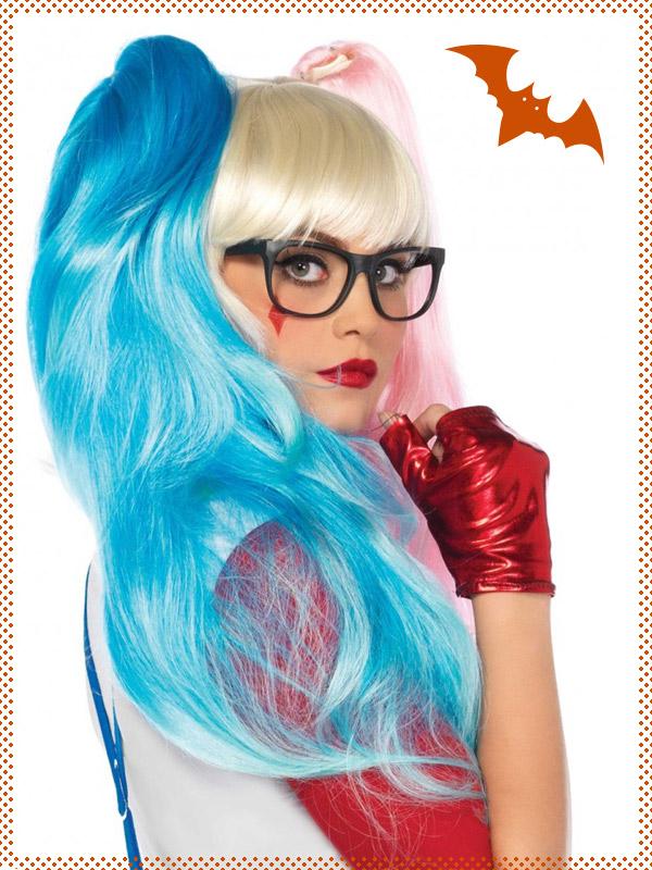 Accessori parrucche halloween completini costumi calze capelli