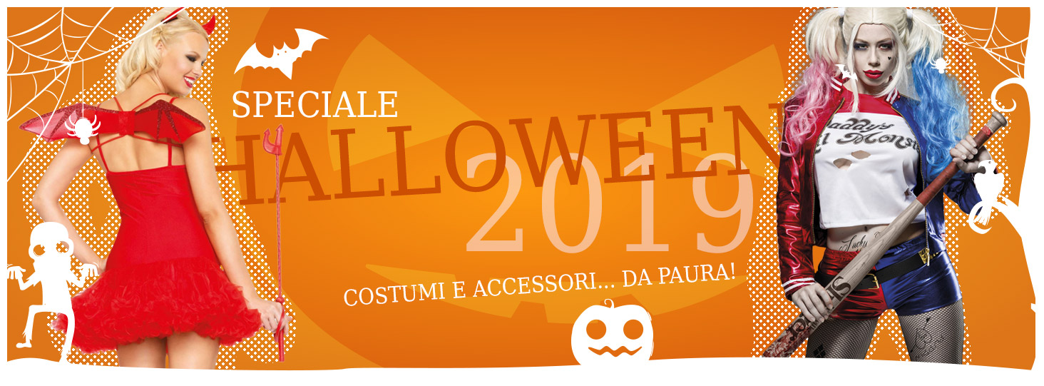 costumi per Halloween, vestiti per Halloween, lingerie sexy halloween 2019