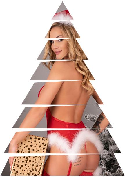 costumi e completini a tema natalizio