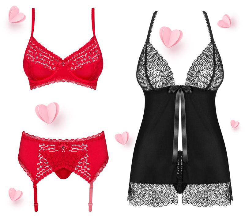 san valentino 2021 selezione lingerie